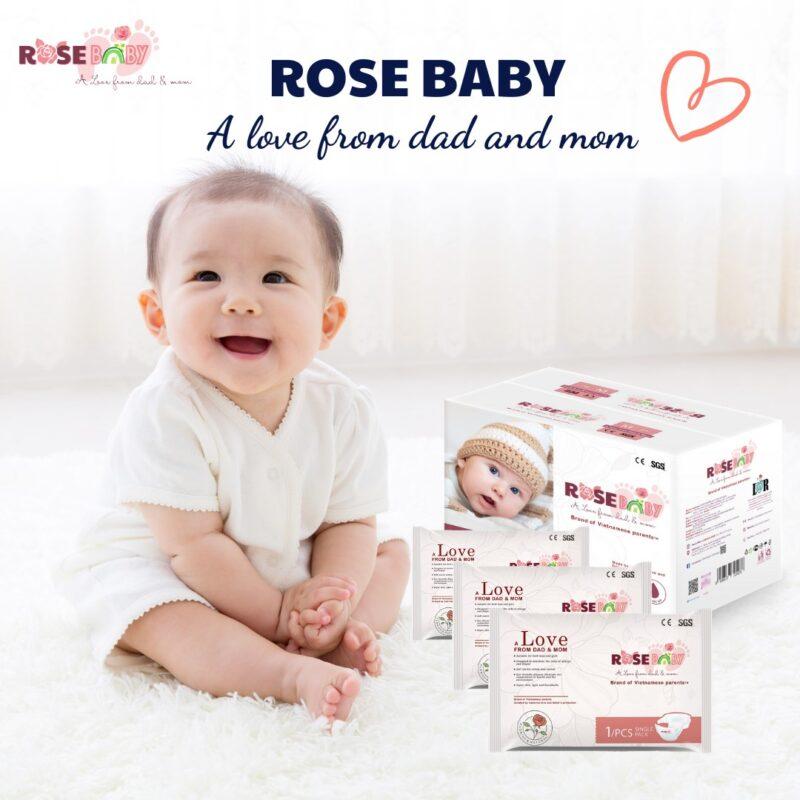 Tã Bỉm Rose Baby
