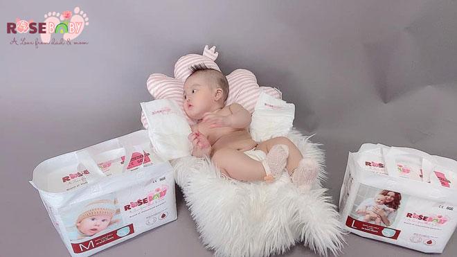 ROSE BABY thấu hiểu và nâng niu làn da bé